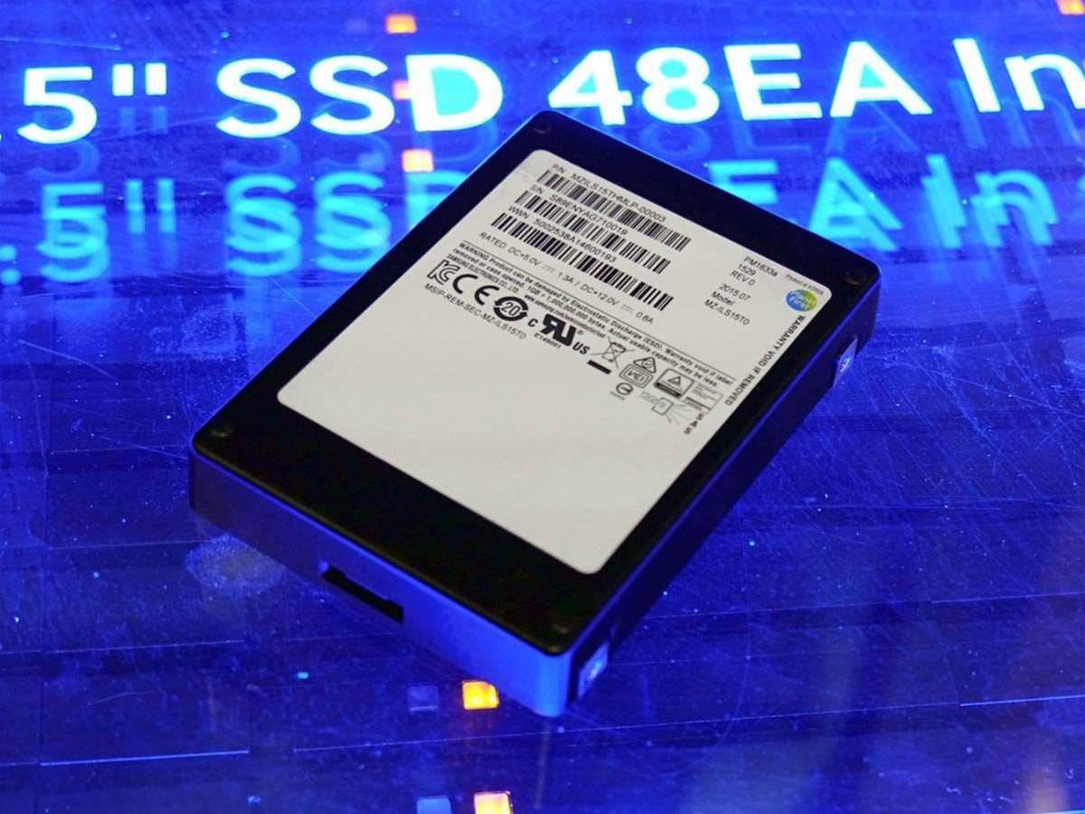 Samsung shows world's largest hard drive
