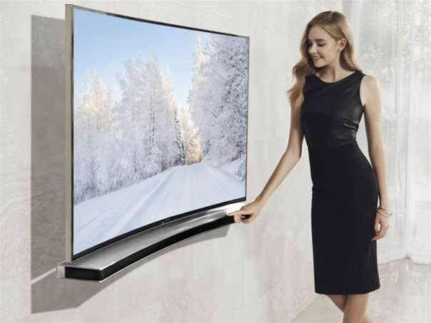 Samsung now makes a curved soundbar to match your curved TV