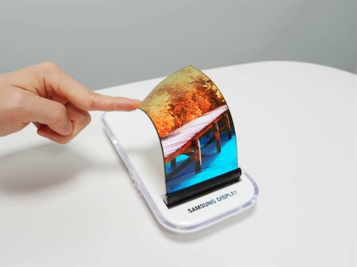 Fold or roll? Samsung's new screens could drive future phones and tablets
