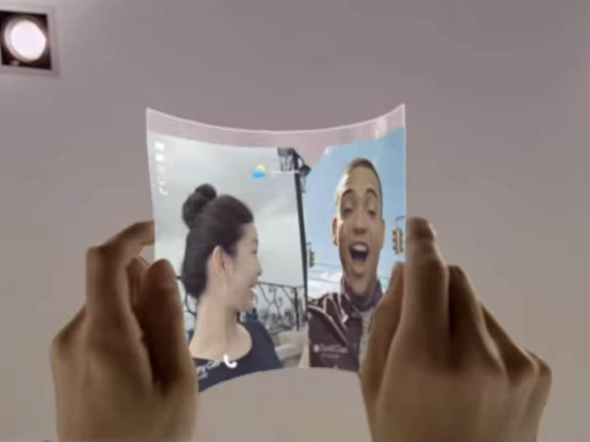 Will Samsung's next mobile concept be a folding smartphone?