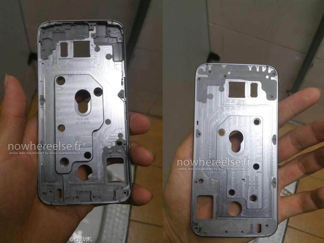 Samsung Galaxy S6 gets caught naked