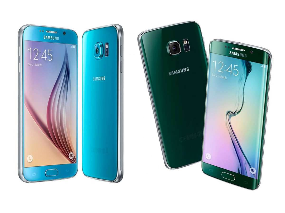 Samsung launches Galaxy S6 and S6 Edge in two shiny new colours