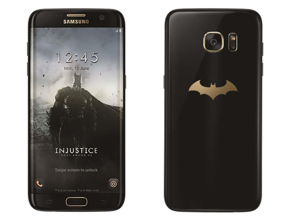 Batman has his own official Samsung Galaxy S7 Edge now