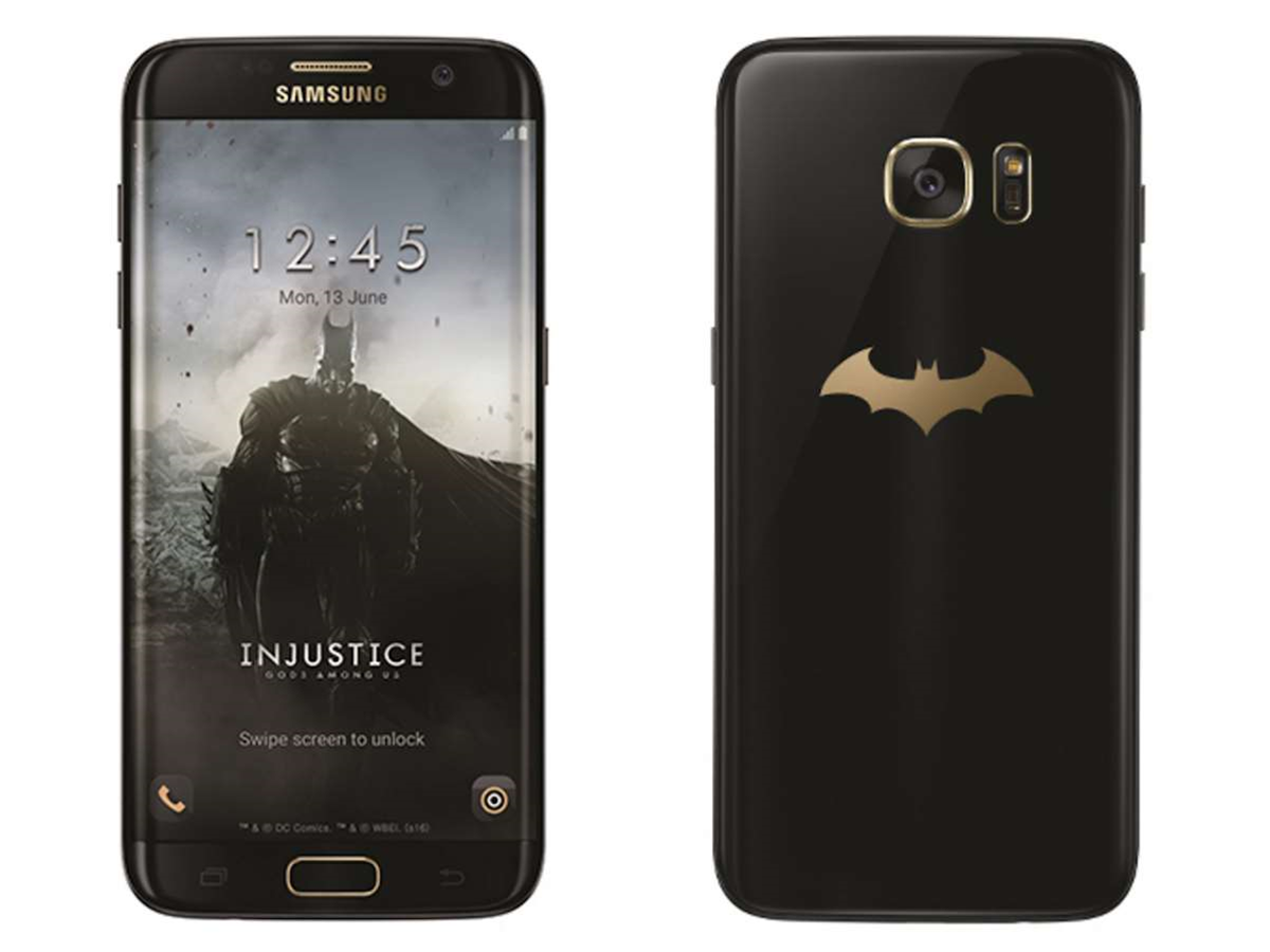 Batman has his own official Samsung Galaxy S7 Edge now