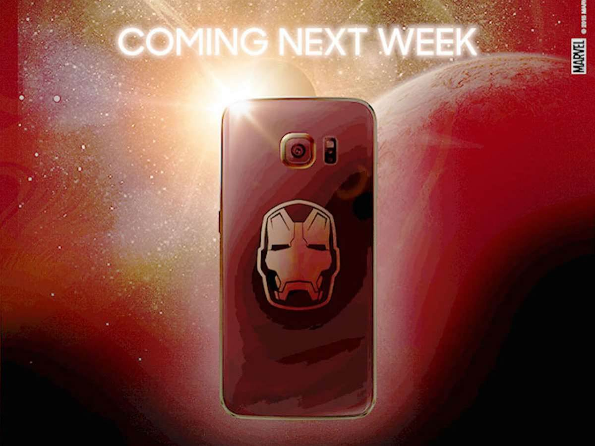 Iron Man Galaxy S6 Edge this week