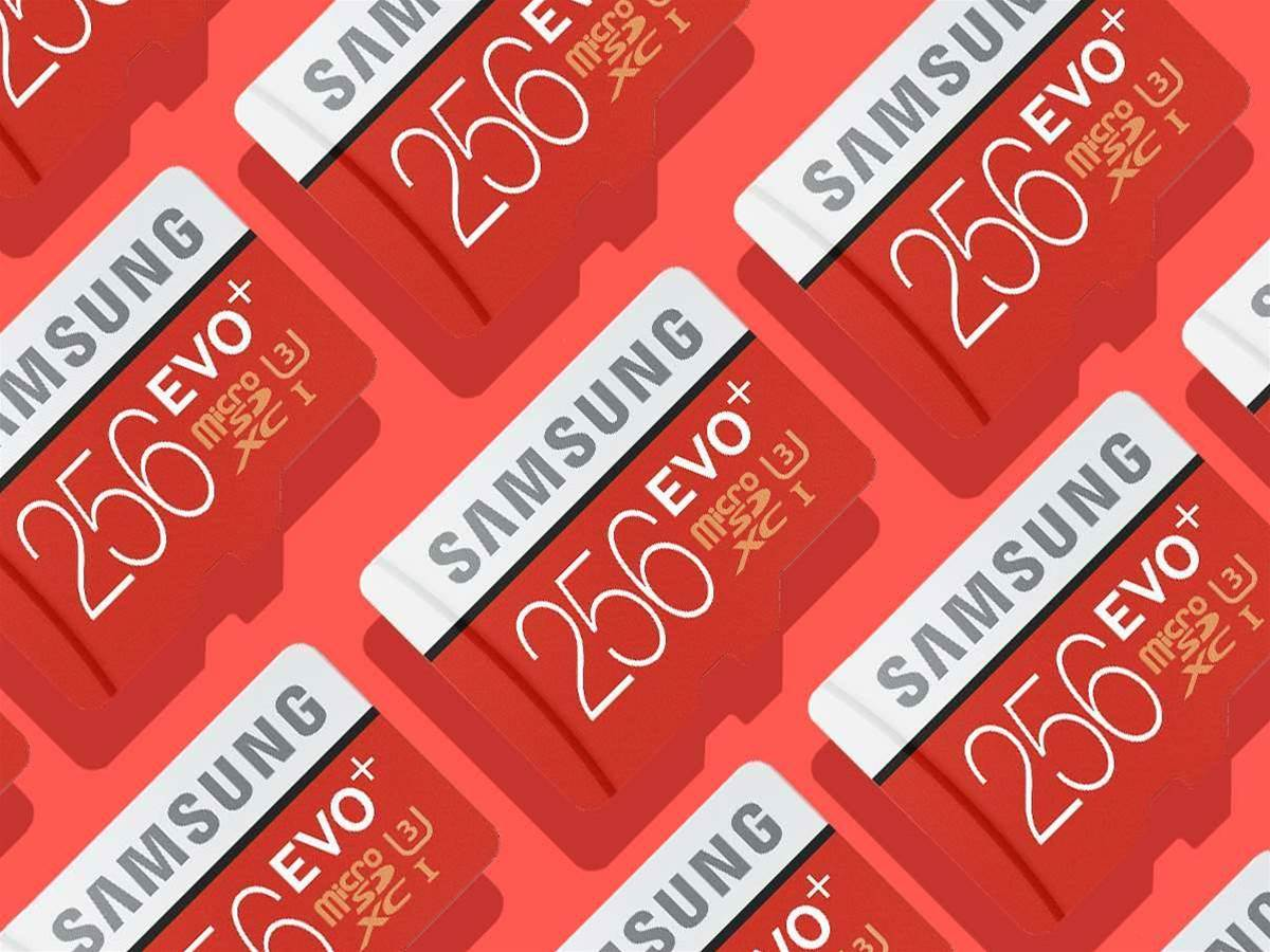 Struggle for smartphone storage? Not with Samsung's huge 256GB microSD card