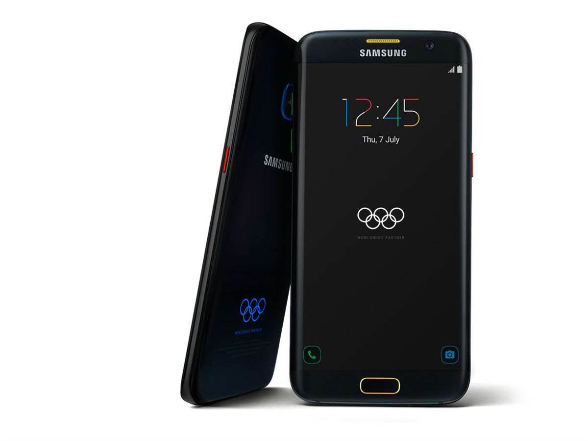 Samsung Rio-ready with its Galaxy S7 Edge Olympics edition