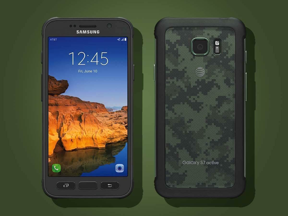 Welcome to the jungle: the Galaxy S7 active arrives in camo colours