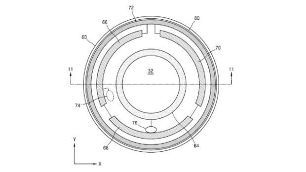 Samsung patent reveals smart contact lens for augmented reality with built-in display and camera