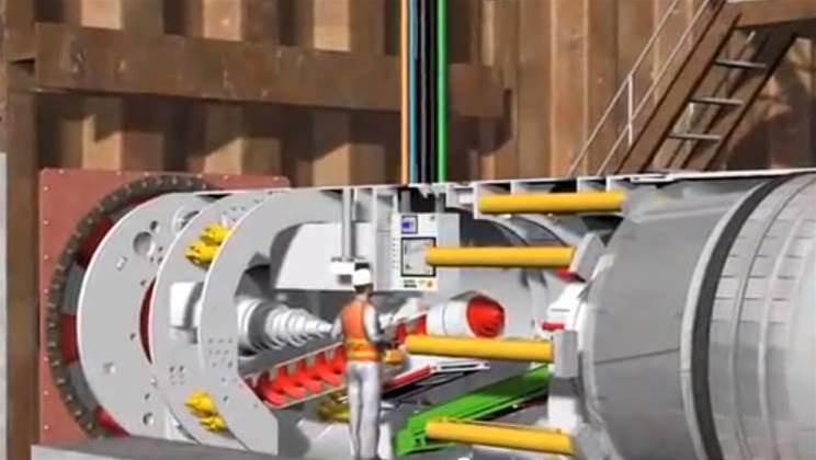 Video: Santos harnesses tech-heavy tunnel maker