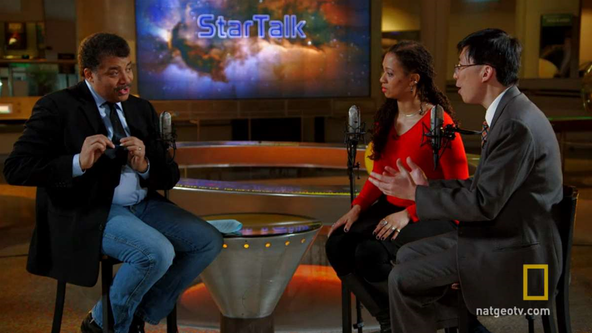 'Star Talk': A Sneak Peek At Neil deGrasse Tyson's New Late Night Show