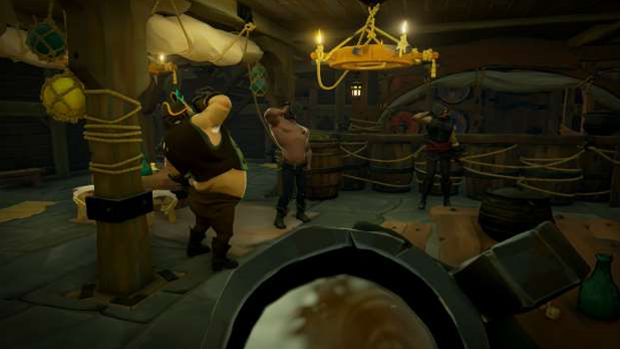 Sea of Thieves: Facing No Man's Sky with a barrel of grog