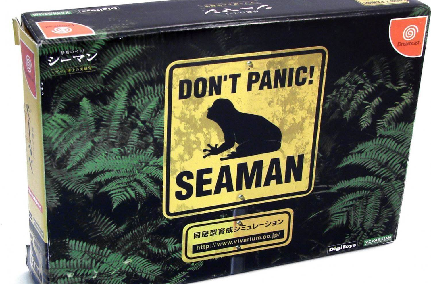 Don't panic, but a new Seaman game might happen