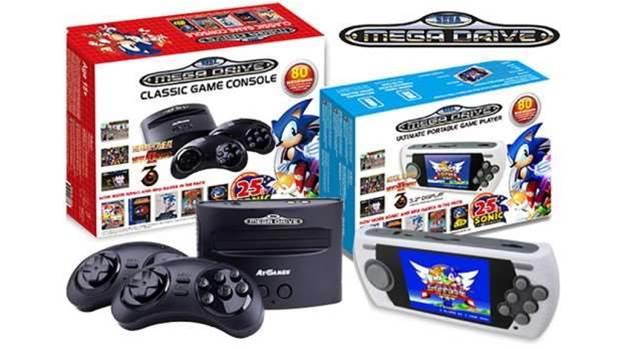 Sega's mini Mega Drive consoles take the fight to Nintendo