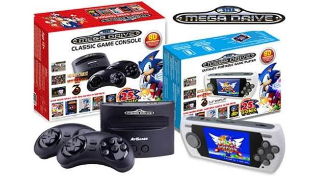 Sega's mini Mega Drive consoles take the fight to Nintendo