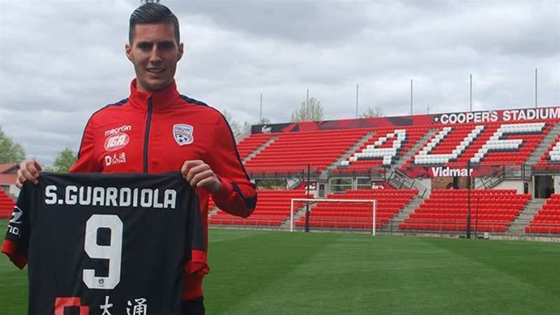 Adelaide sign Spanish forward