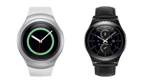 Samsung shows off round Gear S2 smartwatch