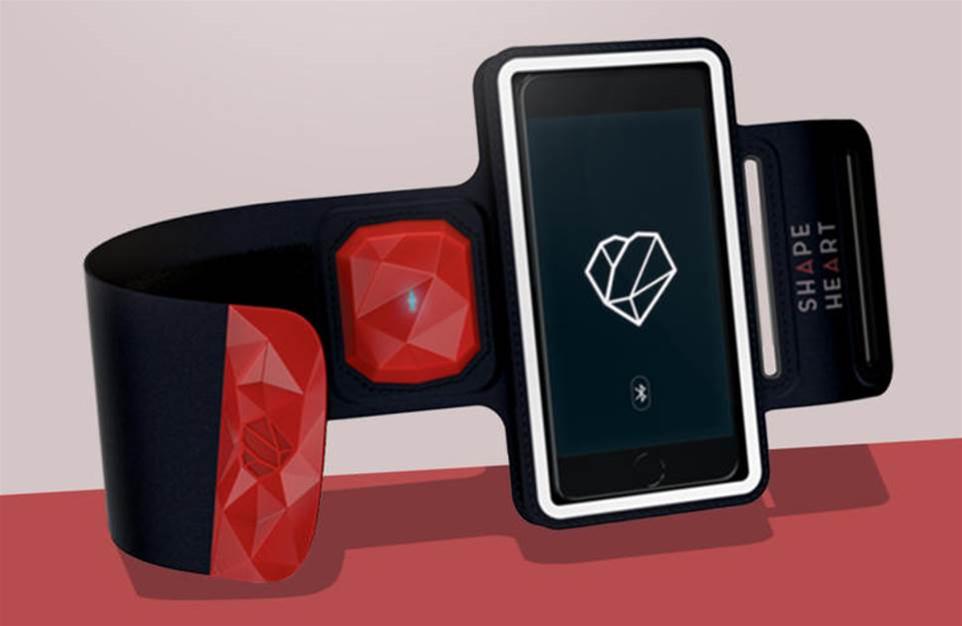 Shapeheart keeps your smartphone handy while you get sweaty