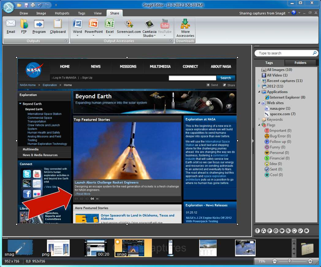 TechSmith adds video recording to Snagit 11