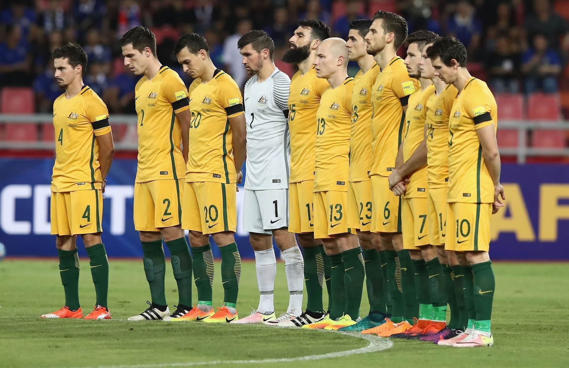 Socceroos finish year inside top 50
