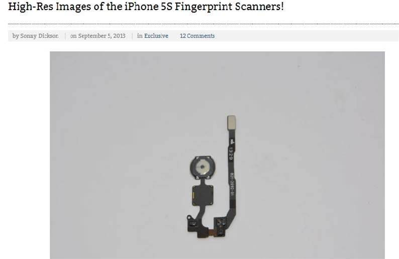 Australian teen leaks pictures of new iPhone parts
