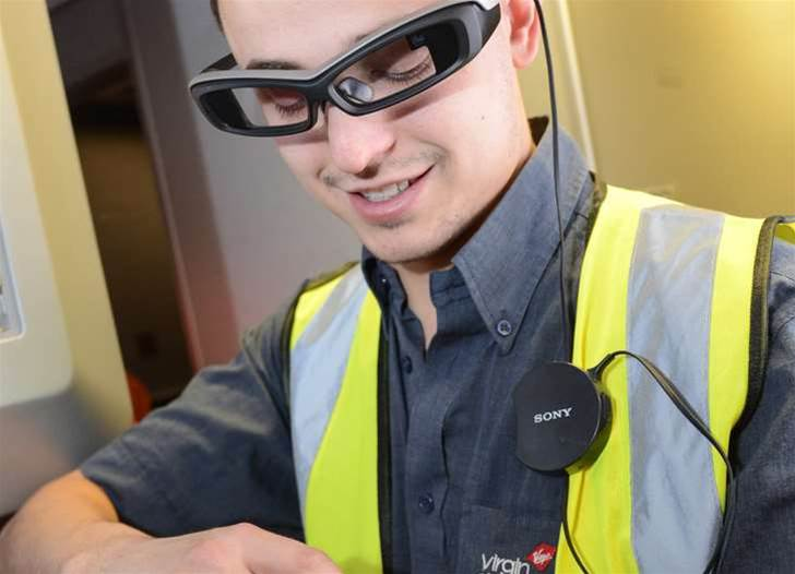 Virgin Atlantic engineers to test Sony smart glasses, watches