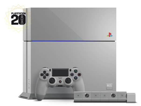 Limited edition Original Grey PlayStation 4 celebrates 20th anniversary