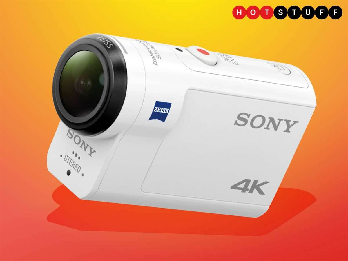 Sony's new action cam brings optical image stabilisation to 4K