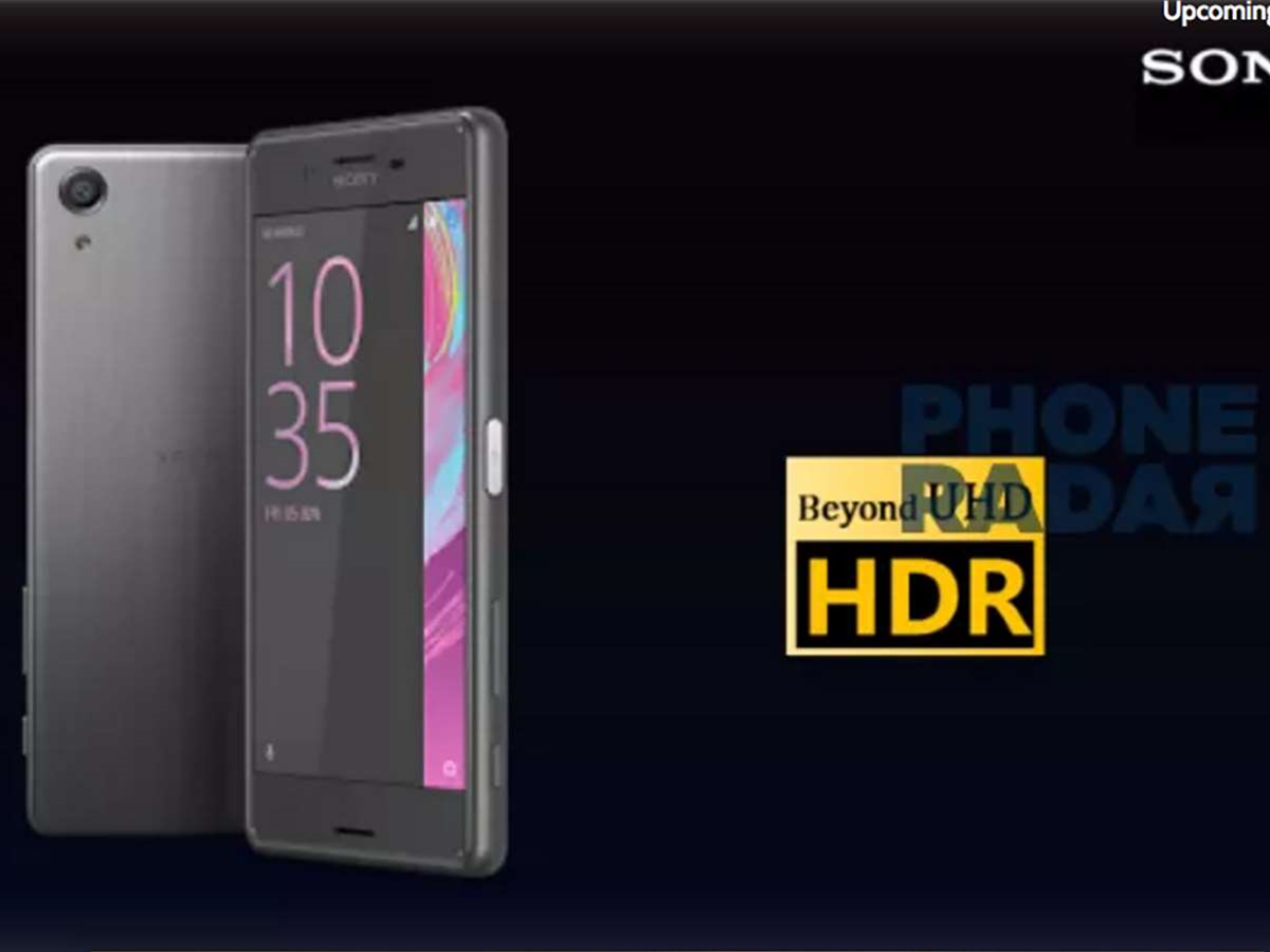 HDR video in your pocket? Sony's Xperia X Premium could make it happen