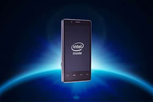 Intel unveils Android smartphone at CES 2012