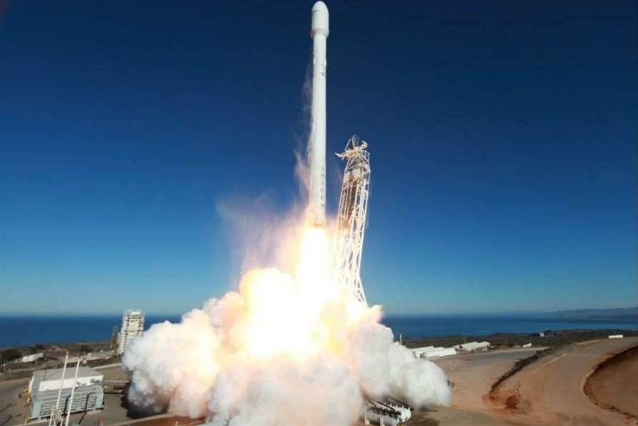 SpaceX releases 4K launch footage