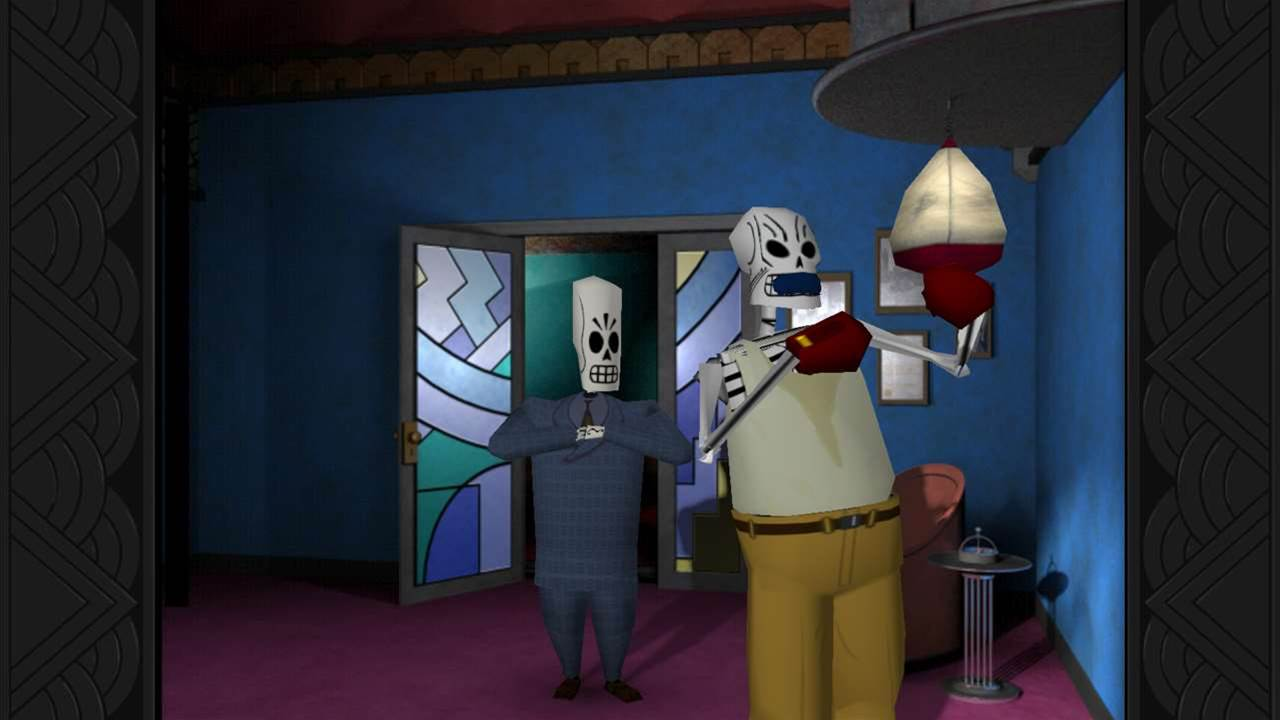 Grim Fandango Remastered out now on Steam