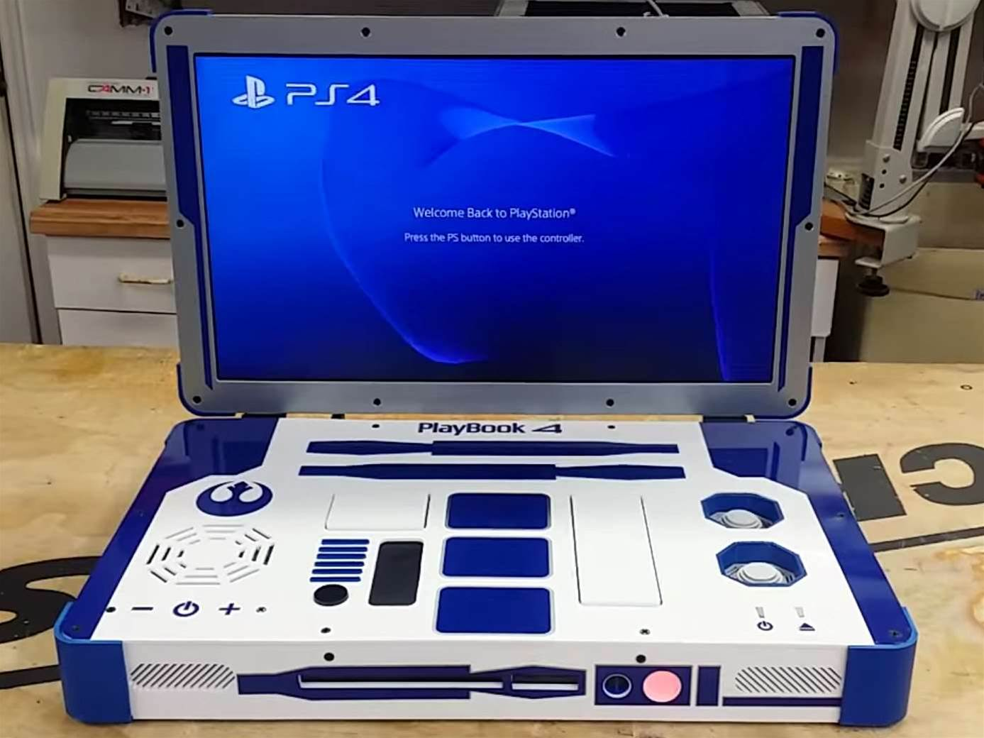 We'd punch Chewbacca in the face for this portable R2-D2 PS4