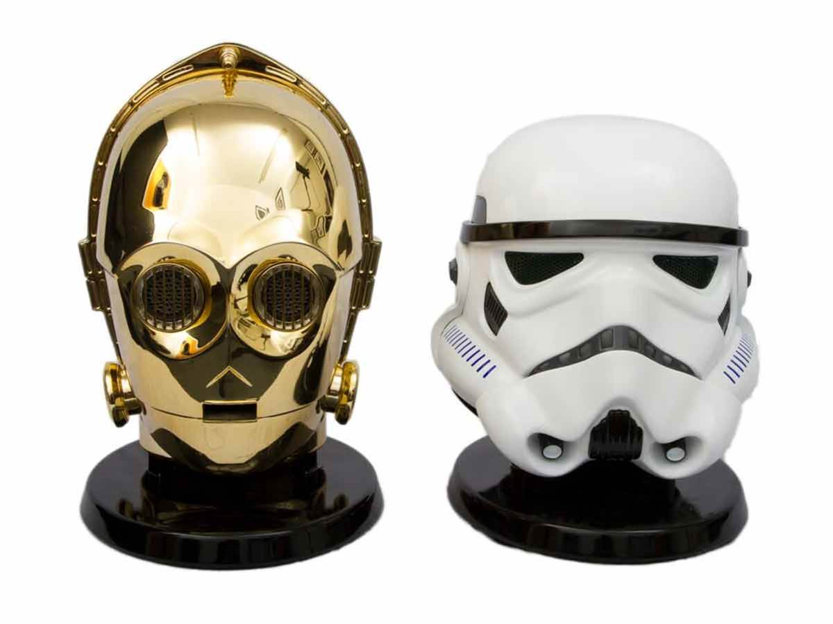 We want these Star Wars speakers on our desks, right now