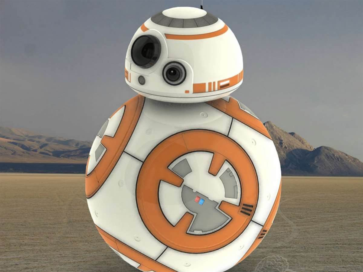 Sphero made the amazing Star Wars droid