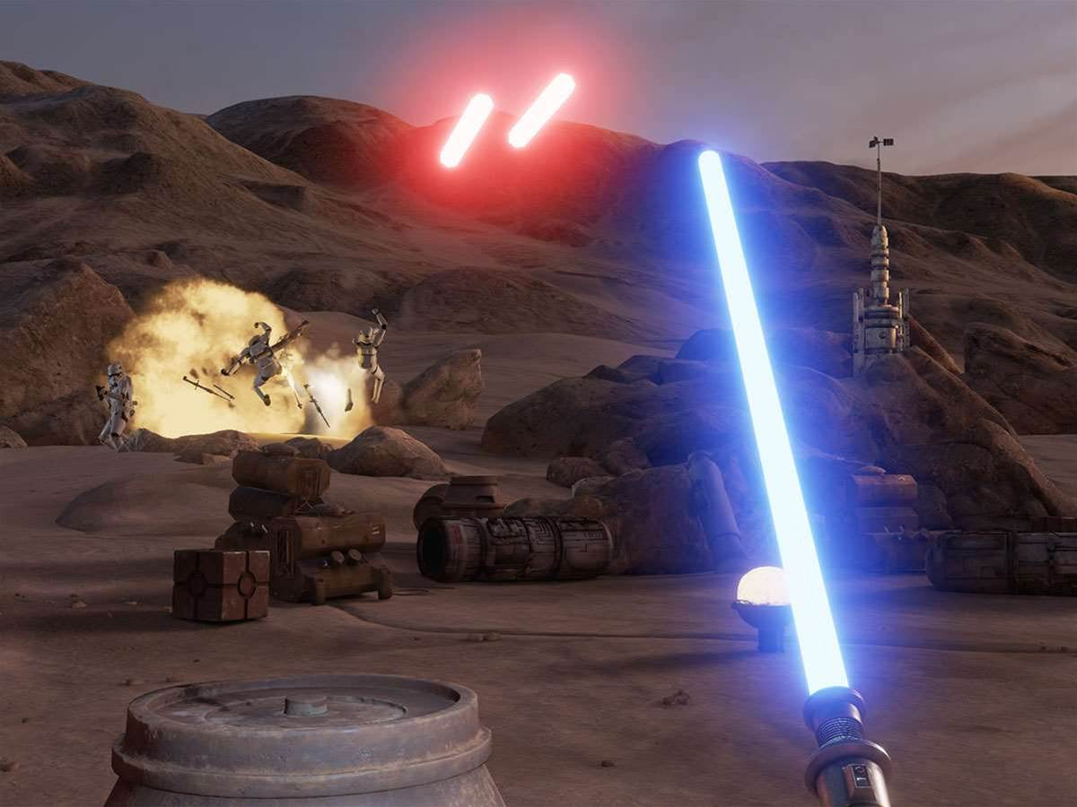 Star Wars and Vive team up to let you wield a lightsaber in virtual reality