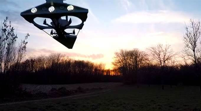 Run, Leia, It's The Star Destroyer Drone