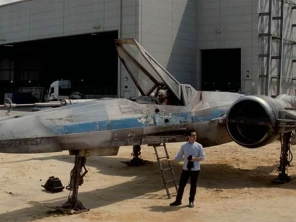 Star Wars: Episode VII new X-Wing fighter revealed