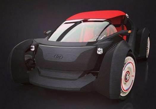 Print, Assemble, Drive: The 3D Printed Plastic Car
