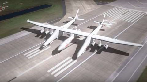 The largest plane in the world will take off next year