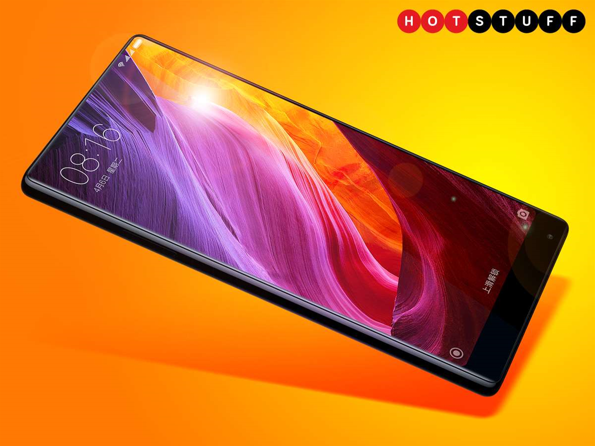 Xiaomi's phablet has very little edge