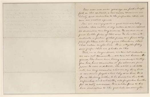 How Scientists Preserve Lincoln's Original Gettysburg Address Manuscripts