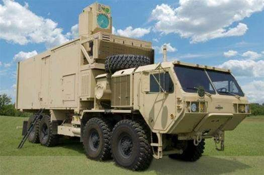 Army Truck Shoots Drones, Mortars With Lasers