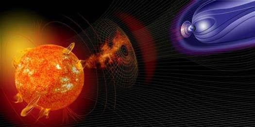 Plasma Plume Keeps Earth Safe From Solar Storms