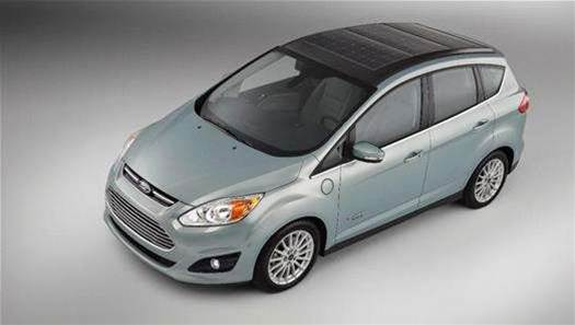 Ford C-Max Solar Energi Concept: Using The Sun To Charge An Electric Car