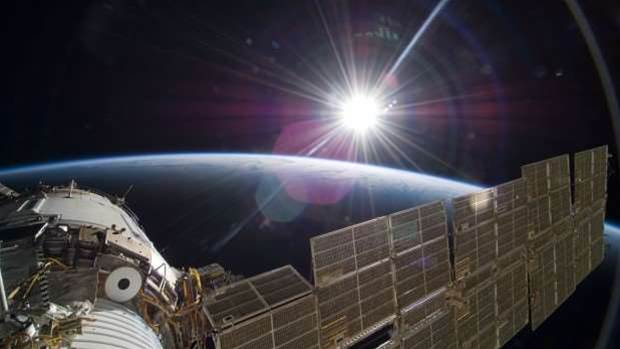 How much does a bottle of water cost on the International Space Station?
