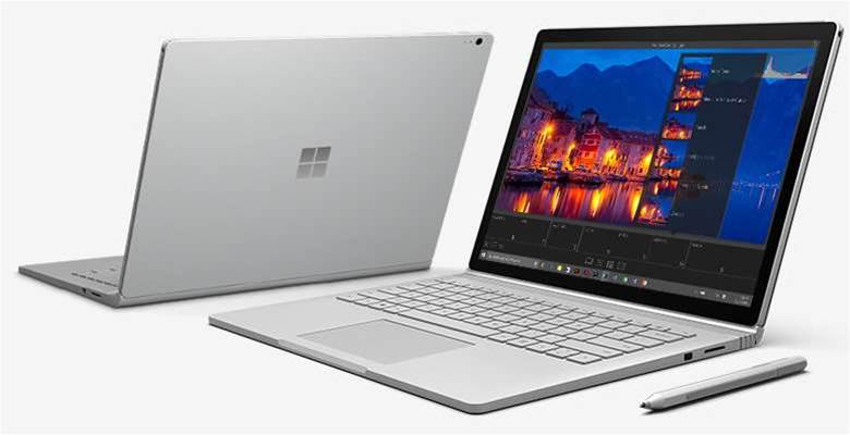Microsoft debuts first-ever laptop