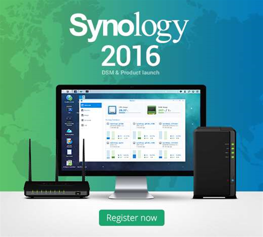 Register now for Synology 2016