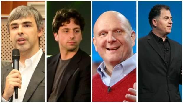 Tech billionaires dominate Forbes' 2016 rich list