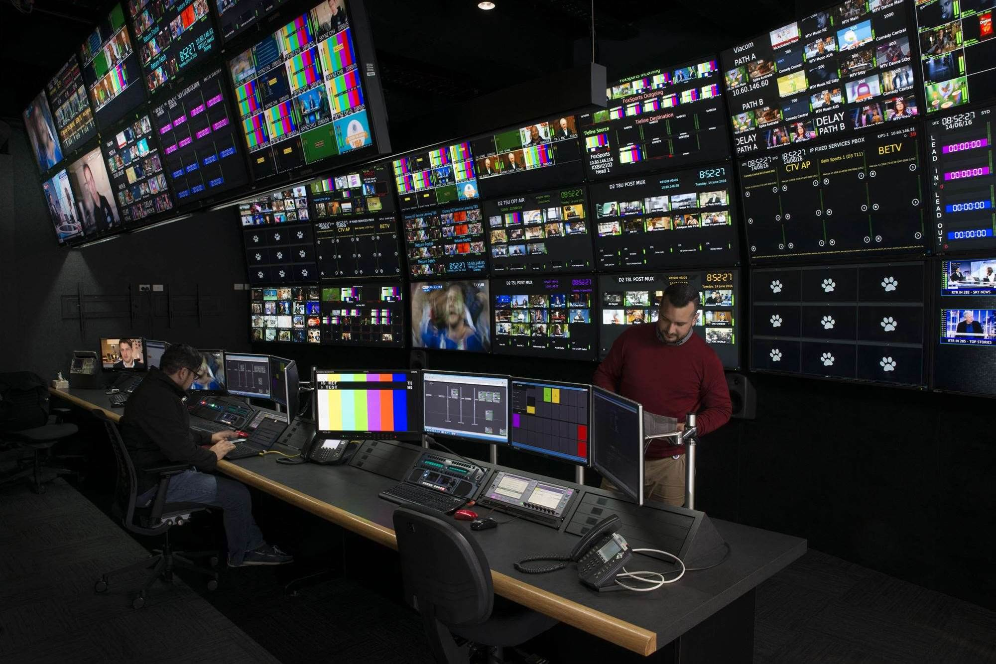 Inside Telstra's new broadcast operations centre